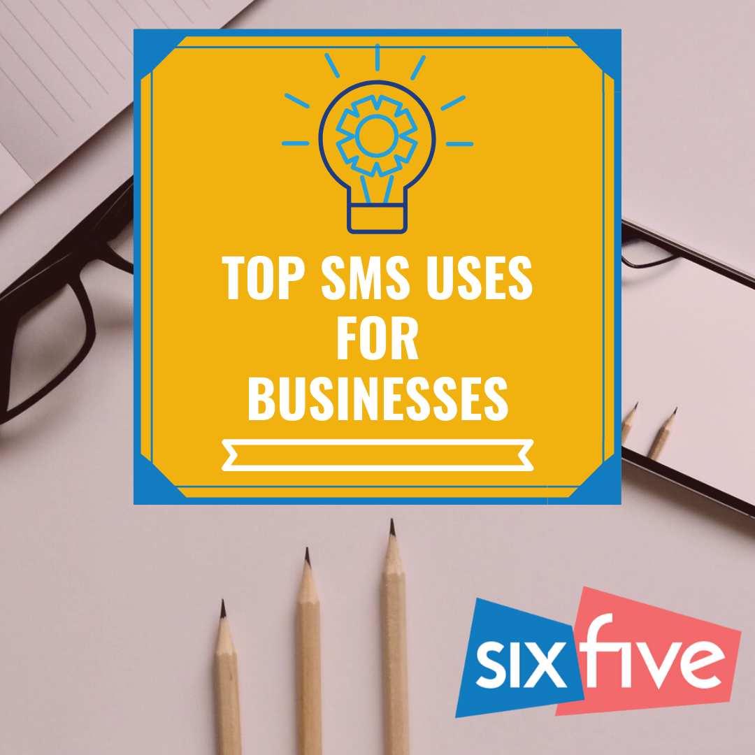 How can businesses utilize SMS texting?