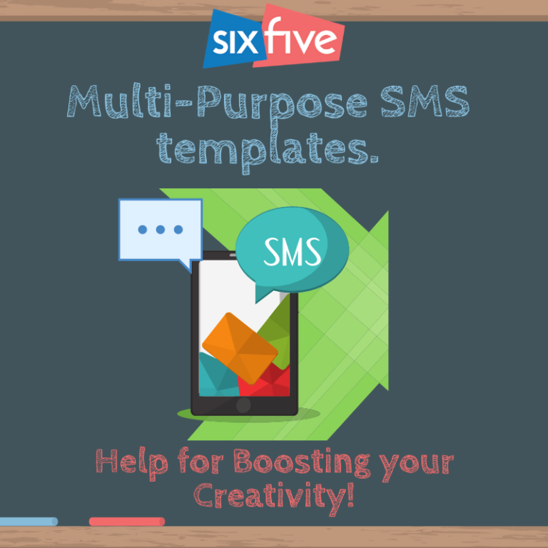 Multi Purpose SMS templates - Help for Boosting your Creativity!